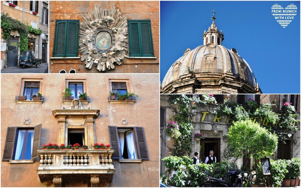 Rom Stadt Leute und Architektur