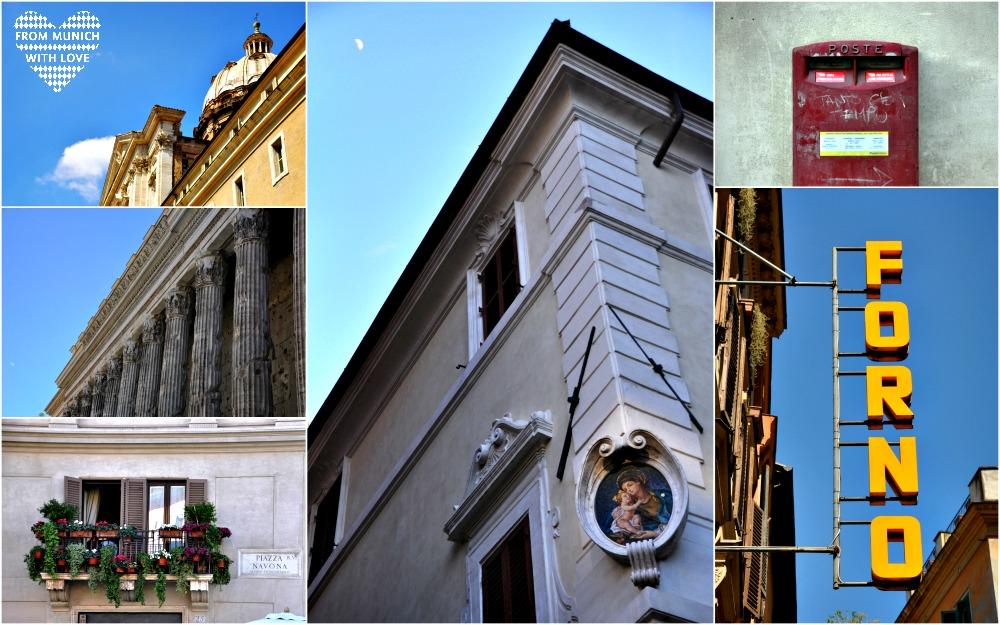 Rom Stadt und Architektur