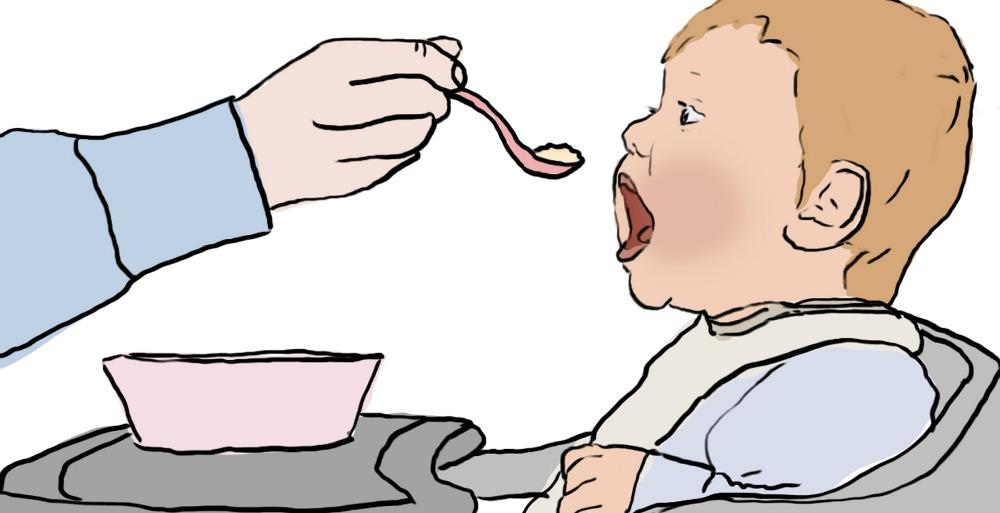 Beikosteinführung bei Babys