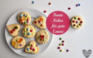 Bunte Kekse für gute Laune