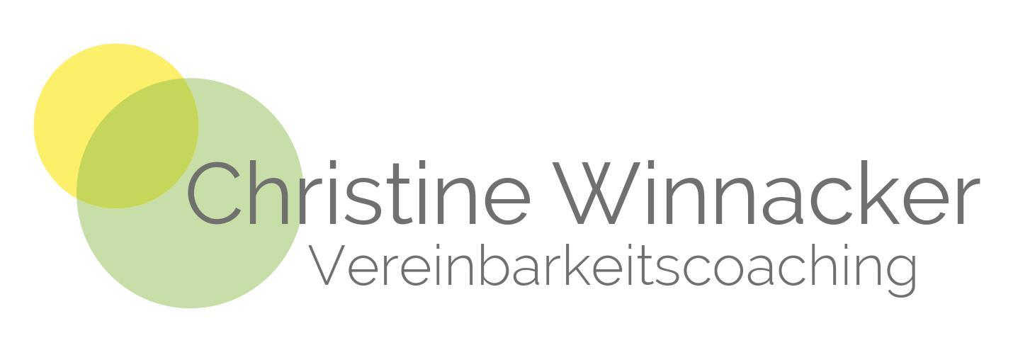 Logo Vereinbarkeitschoaching Christine Winnacker