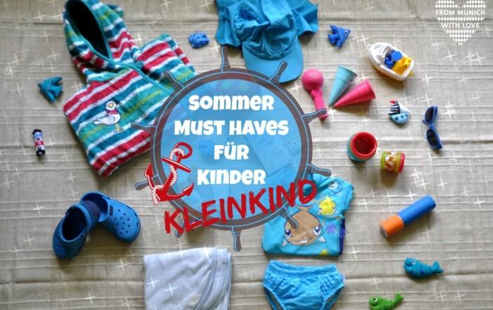 Sommer Must Haves Kleinkind