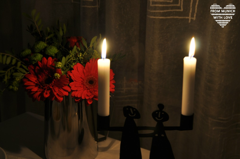 Date zu Hause Candlelieght