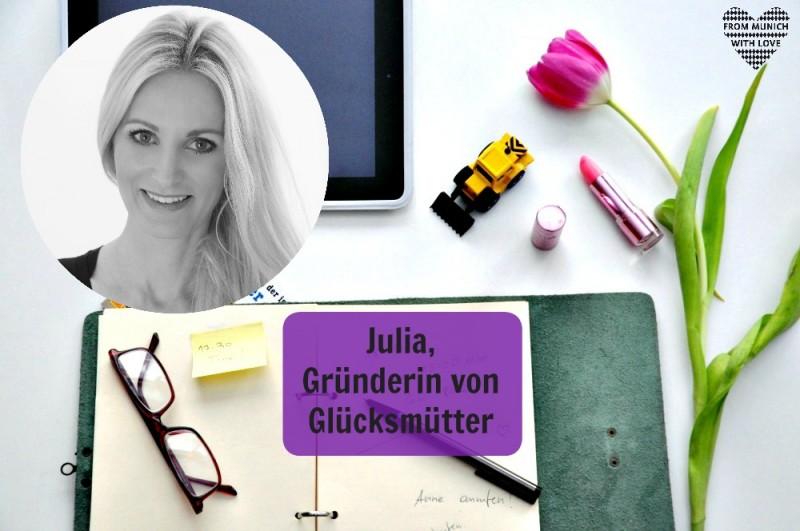 Julia Pohl, Gründerin von Glücksmütter