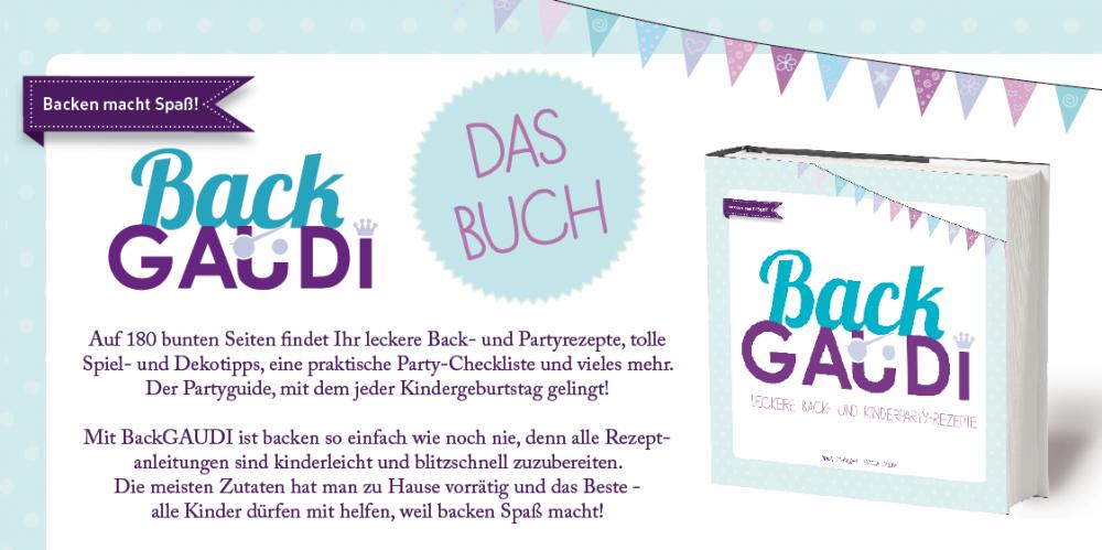 BackGAUDI Kochbuch