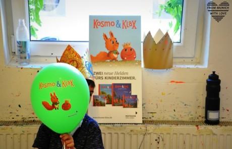 Kosmo und Klax Zwei neue Helden fürs Kinderzimmer