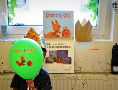 Kosmo & Klax sind unsere neuen besten Freunde (inkl. Verlosung)