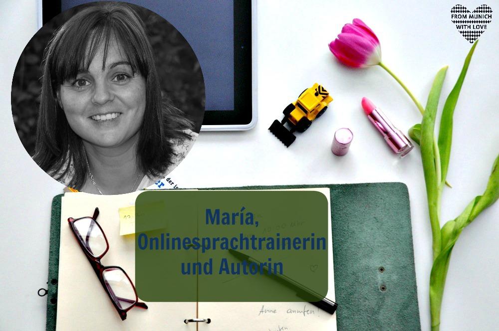 Mama Start-Up: María Piulestán, Onlinesprachtrainerin und Autorin