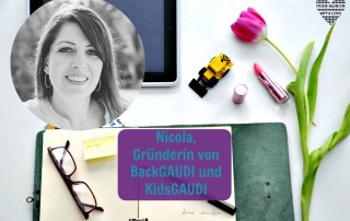 Nicole Legene, Gründerin von BackGAUDI KidsGAUDI