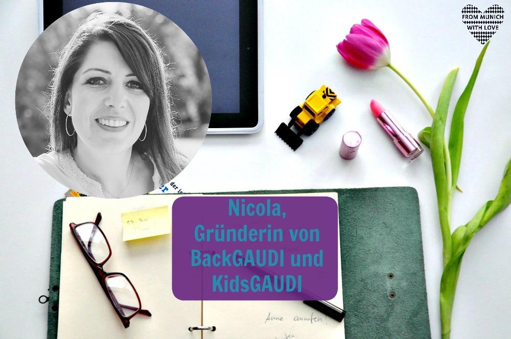 Mama Start-Up: Nicola Legène, Gründerin von KidsGAUDI und BackGAUDI