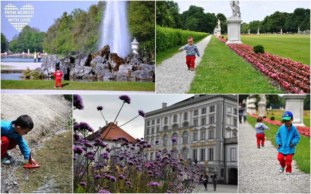 Nymphenburgerpark mit Kindern