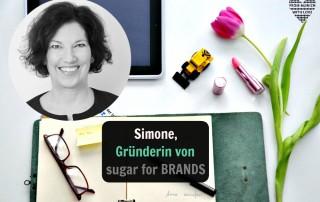 Simone, Gründerin von sugar for BRANDS