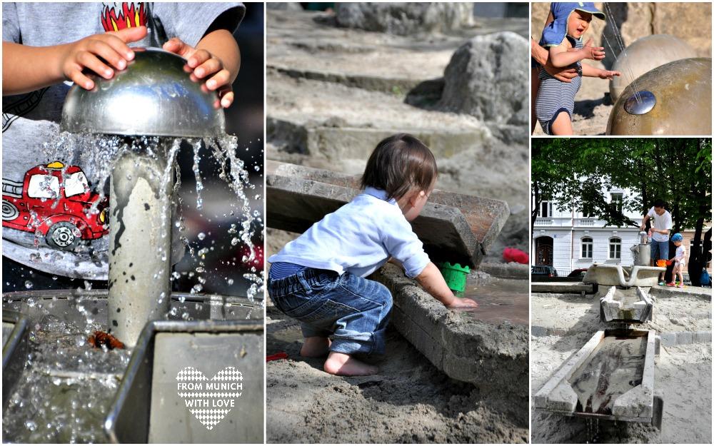 Wasserspielplätze München
