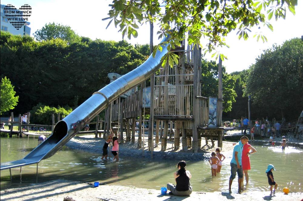 Wasserspielplatz am Jackl Westpark