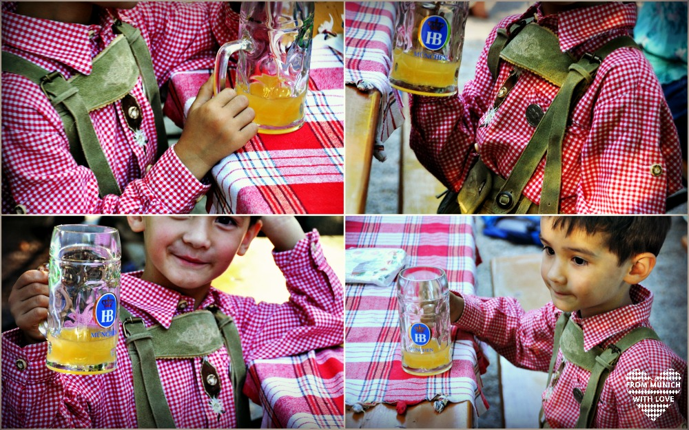 Biergarten Lederhose Junge
