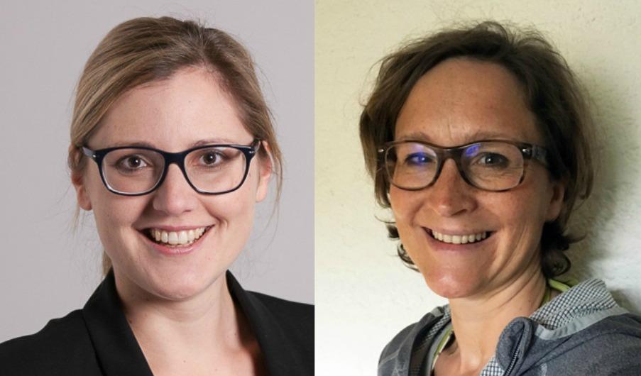 Helen Scheithauer und Sarah Kufner