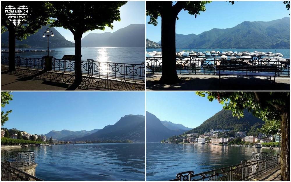 Lugano Schweizer Stadt mit italienischem Flair
