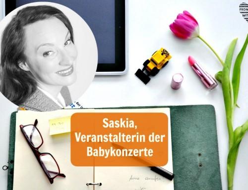 Mama Start-Up: Saskia Dürr, Veranstalterin der Babykonzerte (inkl. Verlosung)