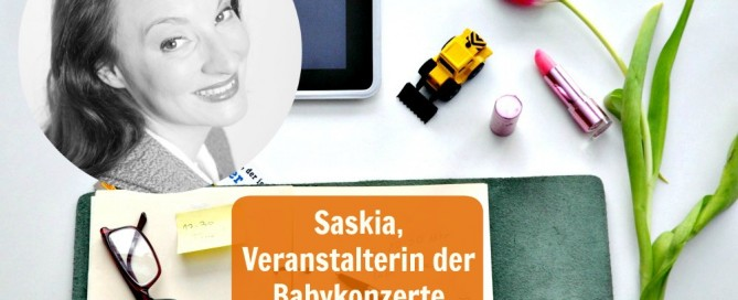 Saskia Dürr, Veranstalerin der Babykonzerte