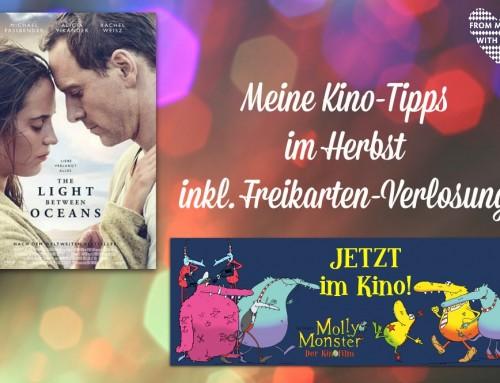 Kino-Tipps im Herbst für Groß und Klein (inkl. Verlosung)