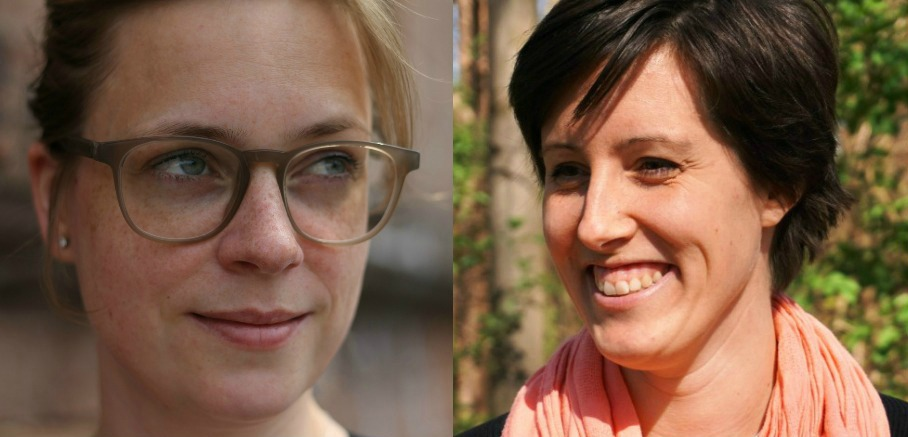 Dorothea Dahinden und Claudia Engel