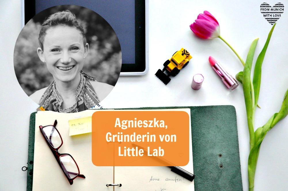 Agnieszka Spizewska, Gründerin von Little Lab