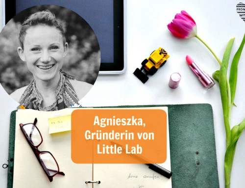 Mama Start-Up: Agnieszka Spiżewska, Gründerin von Little Lab
