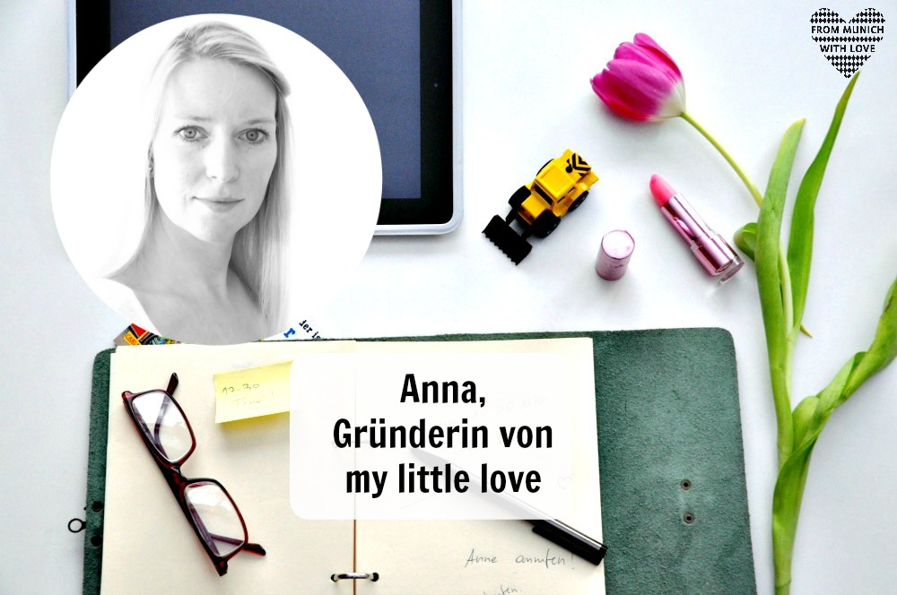 Mama Start-Up: Anna Thomas, Gründerin von my little love