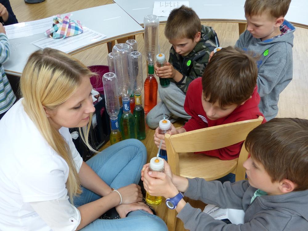 Little Lab München, Experimente, Kindergeburtstag