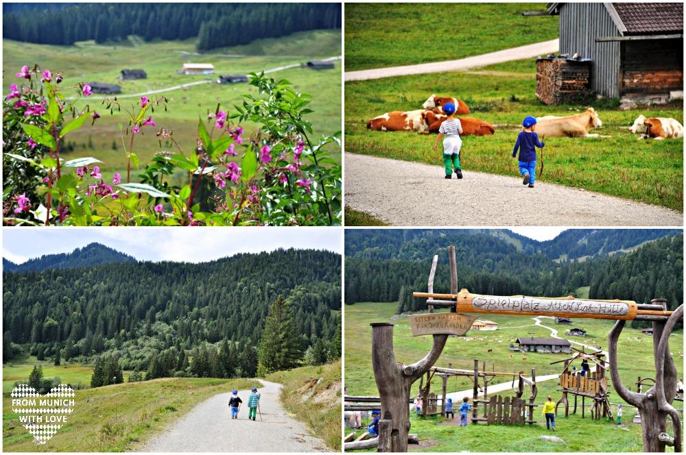 Albert-Link-Hütte Familienwanderung