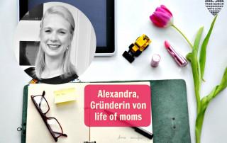 Alexandra, Gründerin von life of moms