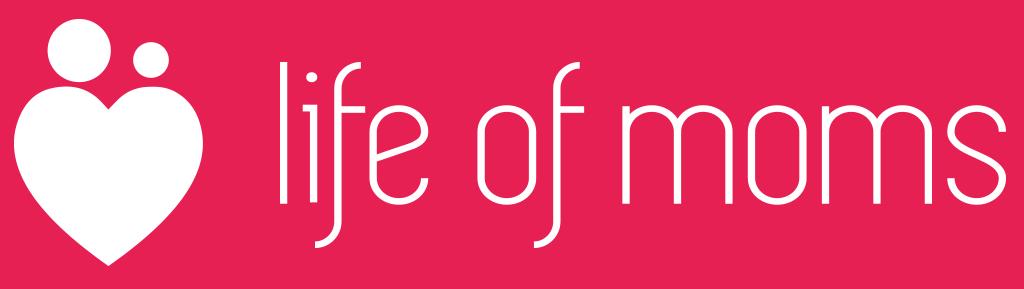Logo, life of moms
