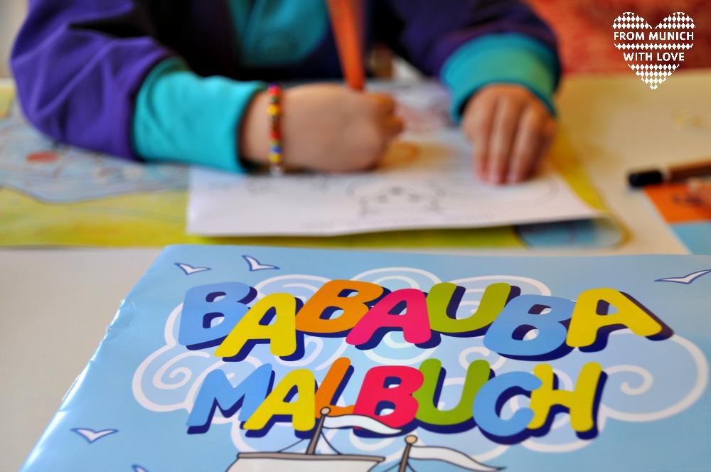 Babauba Malbuch