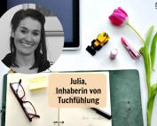 Julia Irmscher, Inhaberin von Tuchfühlung