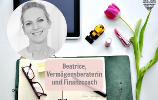 Beatrice Mittler, Vermögensberaterin und Finanzcoach