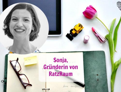 Mama Start-Up: Sonja Ratz, Gründerin von RatzRaum
