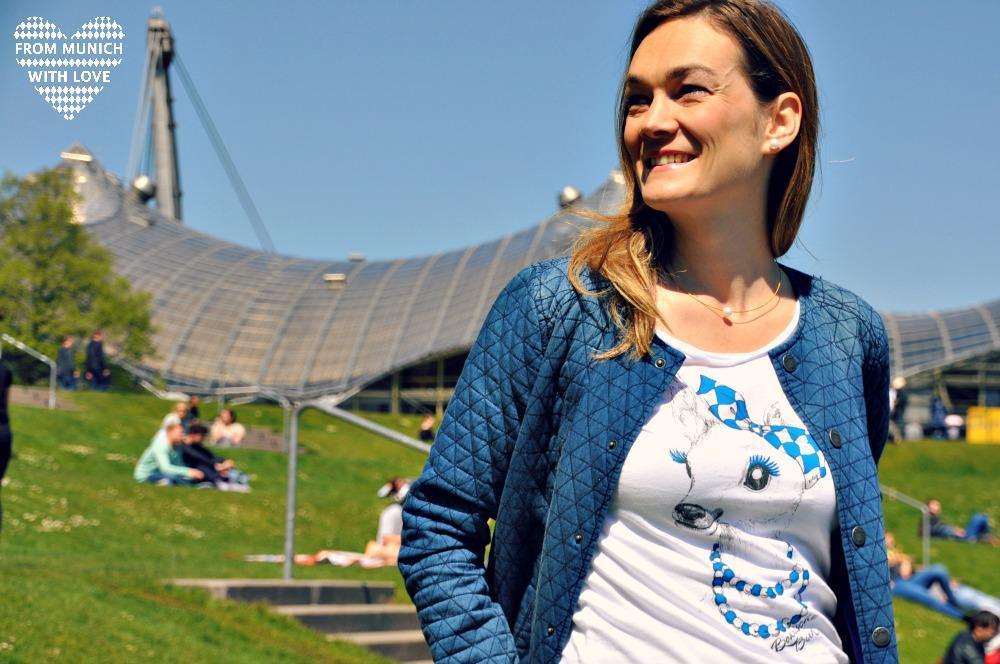 Waschechter Bayer T-Shirt Geschenke aus München