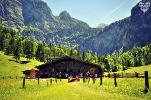 Fischunkelalm am Obersee Berchtesgadener Land