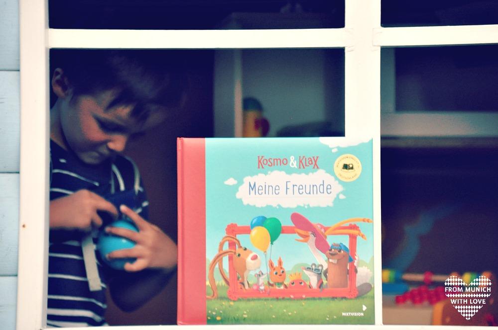 Kosmo und Klax Freundebuch