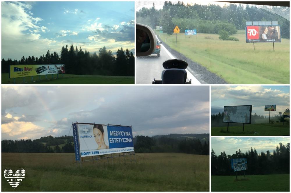 10 Fakten über Polen - Banner und Werbeplakate