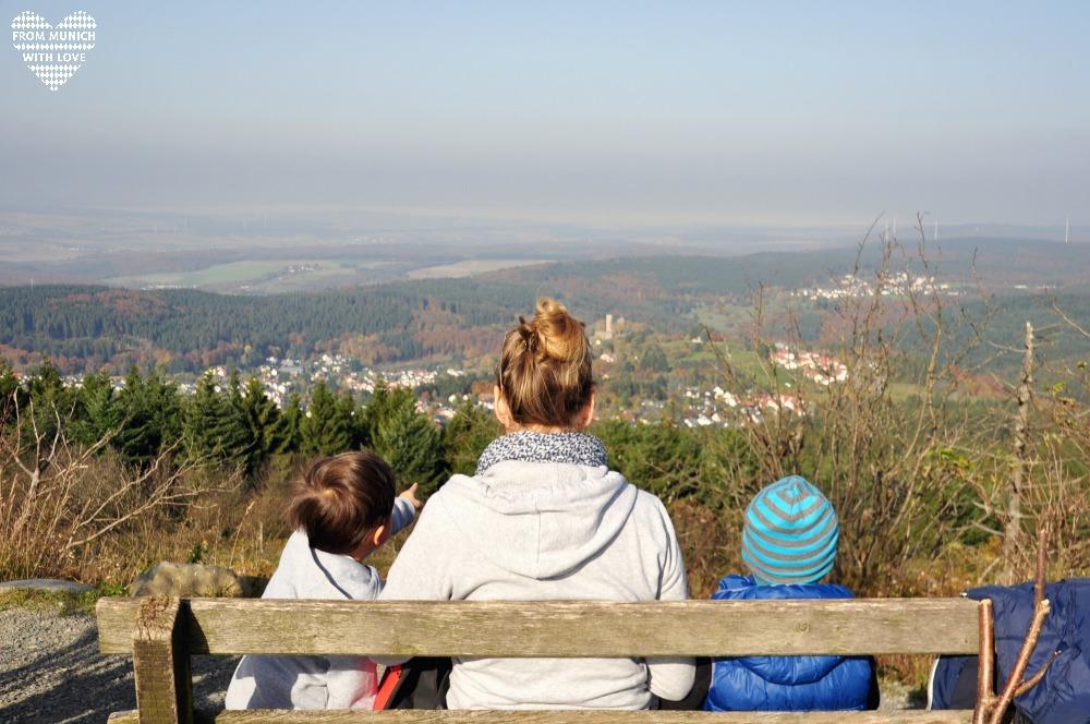 Großer Feldberg im Taunus Familienausflug