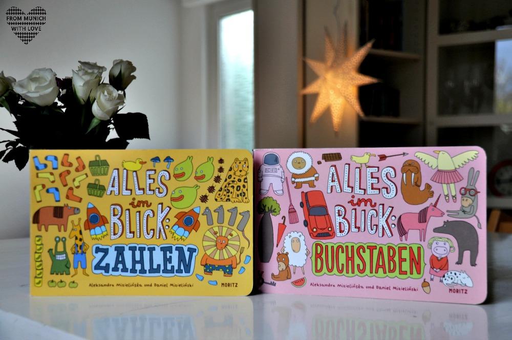 Kinderbücher aus Polen - Alles im Blick-Buchstaben-Zahlen