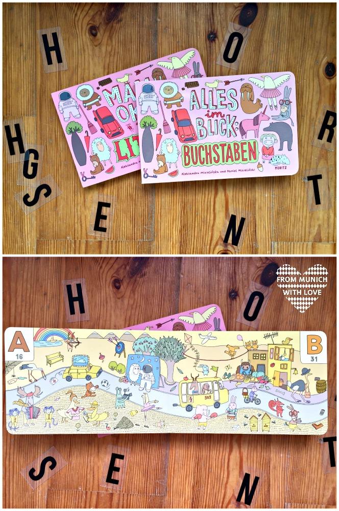 Kinderbücher aus Polen - Alles im Blick-Buchstaben