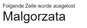 Malgorzata