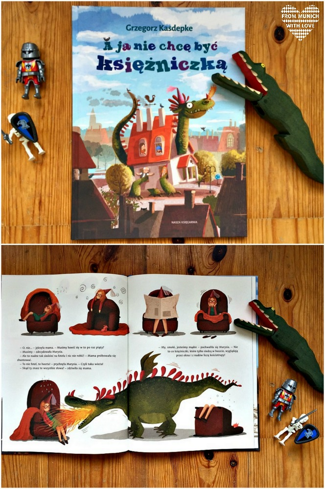 Polnische Kinderbücher auf Deutsch_Auf keinen Fall Prinzessin