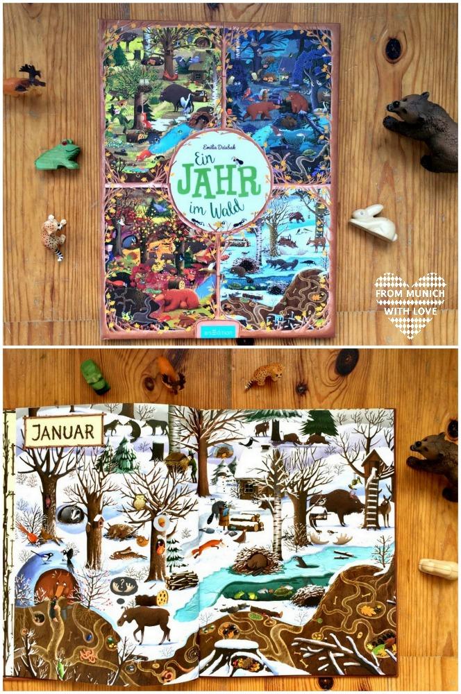 Polnische Kinderbücher auf Deutsch_Ein Jahr im Wald