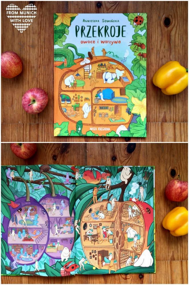 Polnische Kinderbücher auf Deutsch_Obst und Gemüse