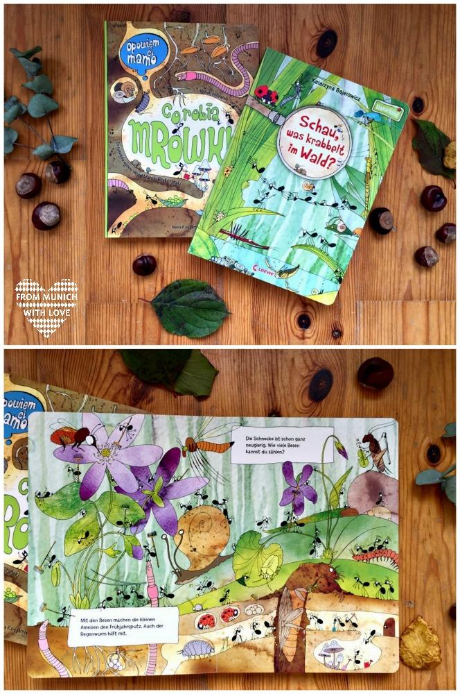 Polnische Kinderbücher auf Deutsch_Was krabbelt im Wald