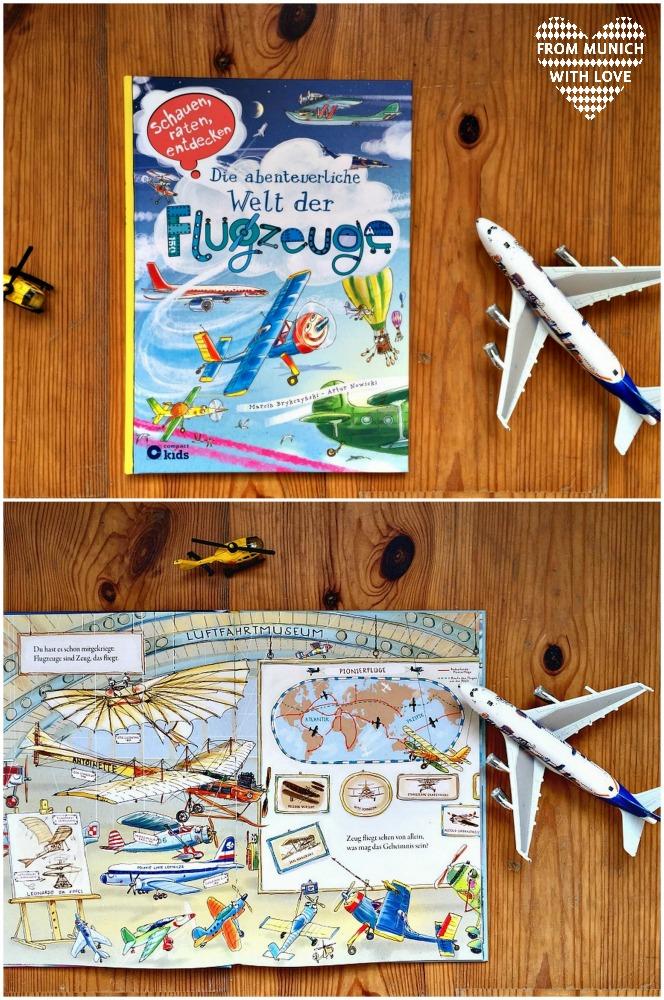 Polnische Kinderbücher auf Deutsch_Flugzeuge