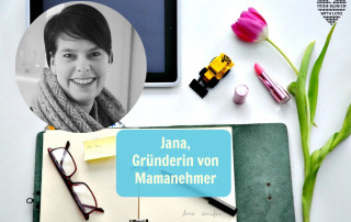 Jana Heinzelmann, Gründerin von Mamanehmer